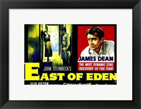 Framed East of Eden John Steinbeck Print