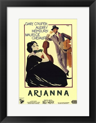 Framed Love in the Afternoon - Arianna Print