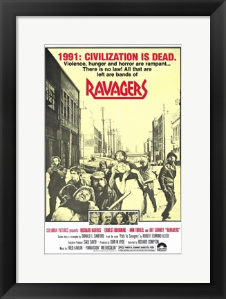 Framed Ravagers Print
