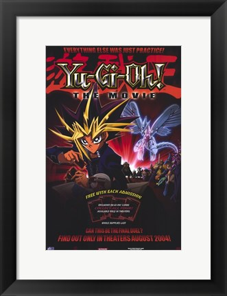 Framed Yu-Gi-Oh! the Movie Print