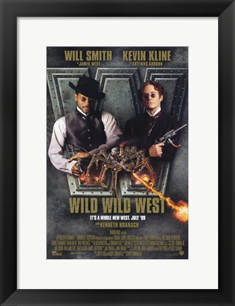 Framed Wild Wild West Print