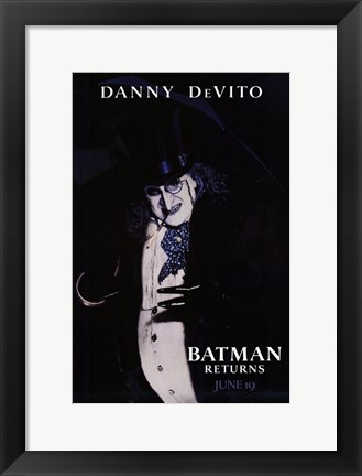 Framed Batman Returns Penguin Print