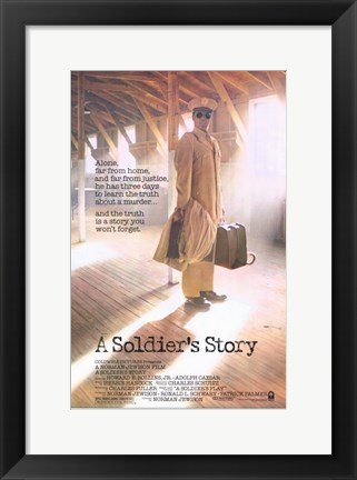 Framed Soldier's Story Print