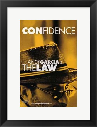 Framed Confidence - yellow Print