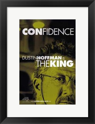 Framed Confidence - green Print