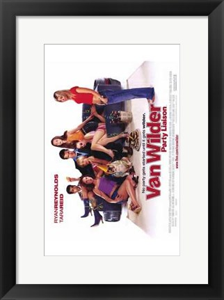Framed National Lampoon's Van Wilder Print