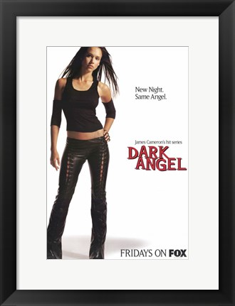 Framed Dark Angel (Tv) Print