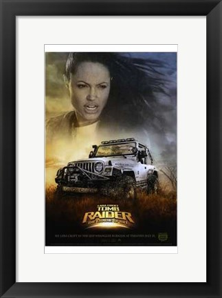 Framed Lara Croft Tomb Raider: the Cradle of Li Print