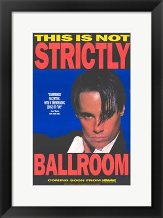 Framed Strictly Ballroom Scott Hastings Print