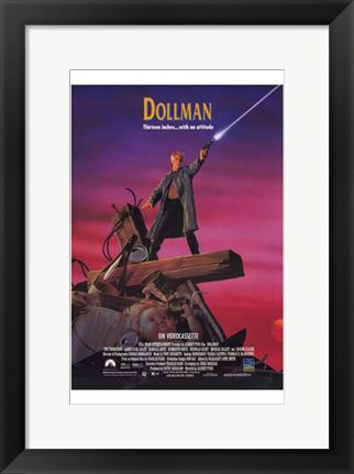 Framed Dollman Print