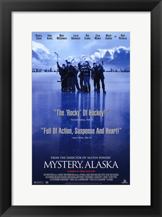 Framed Mystery Alaska Movie Print