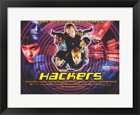 Framed Hackers Print