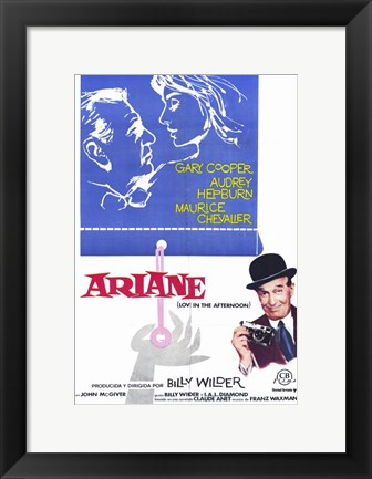 Framed Love in the Afternoon - Ariane Print