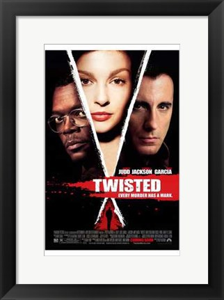 Framed Twisted movie poster Print