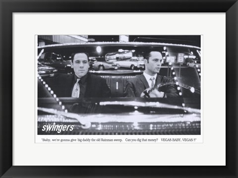 Framed Swingers Vegas Print