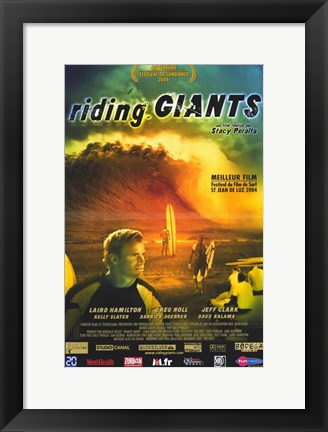 Framed Riding Giants Print