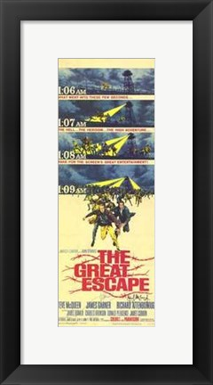Framed Great Escape Times Print