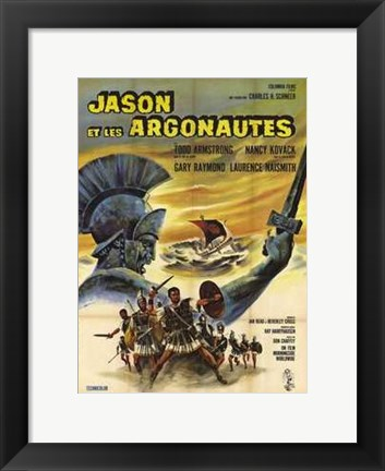 Framed Jason and the Argonauts French Print