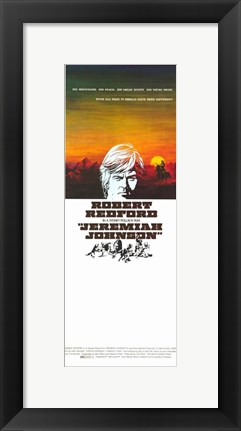 Framed Jeremiah Johnson - long Print