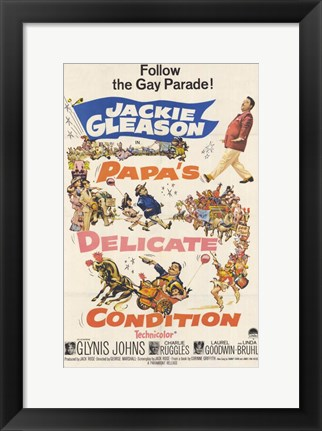Framed Papa's Delicate Condition Print