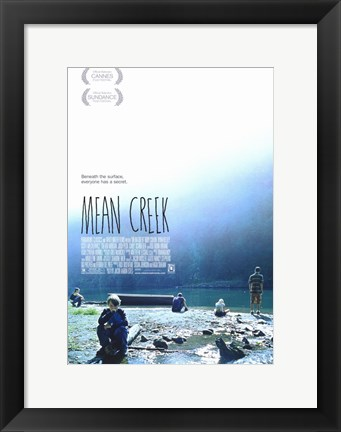 Framed Mean Creek Print