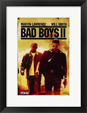 Framed Bad Boys II Print