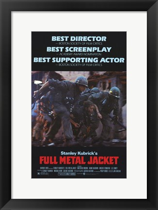 Framed Full Metal Jacket Stanley Kubrick Print