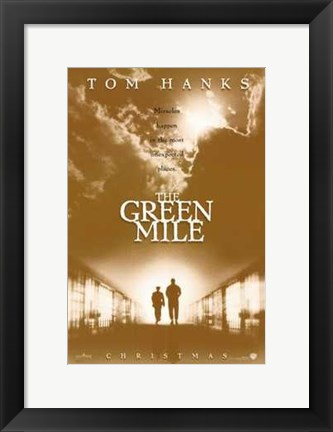 Framed Green Mile Film Print