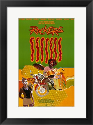 Framed Rockers Print