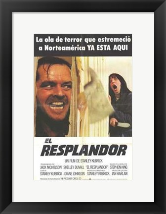 Framed Shining - spanish Print