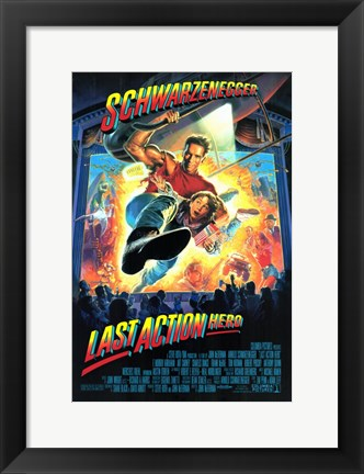 Framed Last Action Hero Print