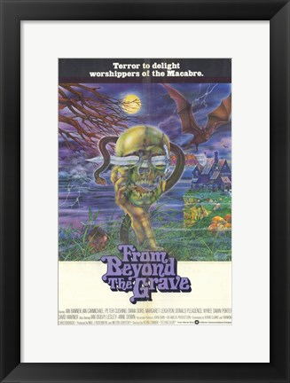 Framed from Beyond the Grave Print