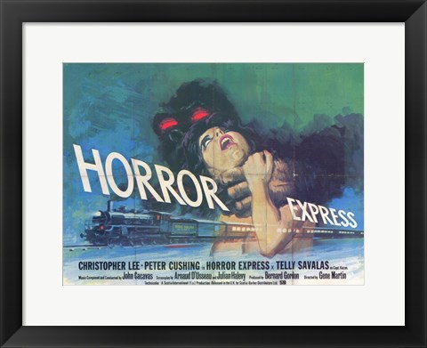 Framed Horror Express Print