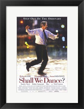 Framed Shall We Dance Richard Gere Print