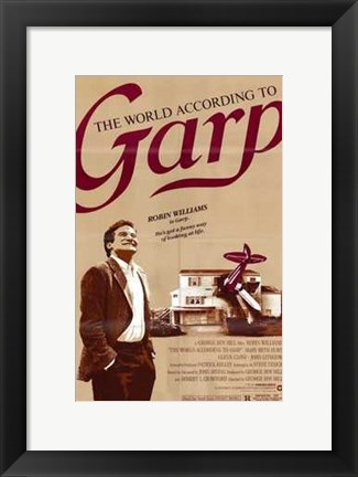 Framed World According to Garp Print