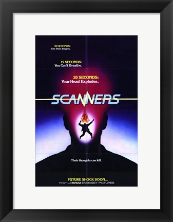 Framed Scanners - future shock soon Print