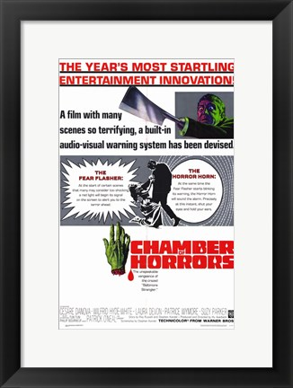 Framed Chamber of Horrors Print