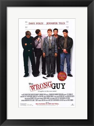 Framed Wrong Guy Print