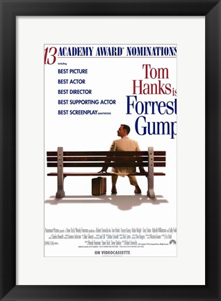 Framed Forrest Gump Best Picture Print
