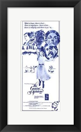 Framed Getting of Wisdom movie poster Print