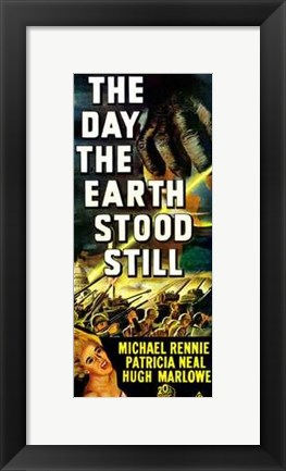 Framed Day the Earth Stood Still Patricia Neal Tall Print