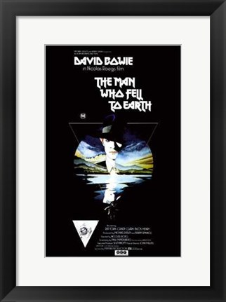 Framed Man Who Fell to Earth by David Bowie Print