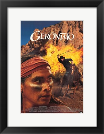 Framed Geronimo Print