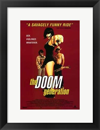 Framed Doom Generation Print