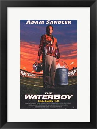 Framed Waterboy (movie poster) Print