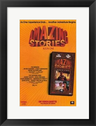 Framed Amazing Stories Print