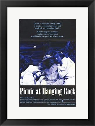 Framed Picnic At Hanging Rock Print