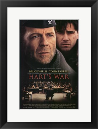 Framed Hart's War Print