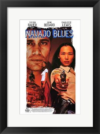 Framed Navajo Blues Print