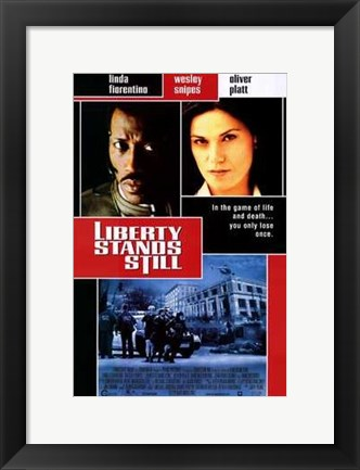 Framed Liberty Stands Still Print